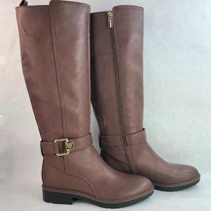 Tommy Hilfiger Frankly Brown Knee High Boots